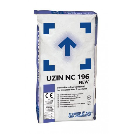 UZIN NC 196 NEW - silnovrstvá stěrkovací hmota