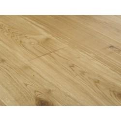 Dubová podlaha masivní bez povrchové úpravy