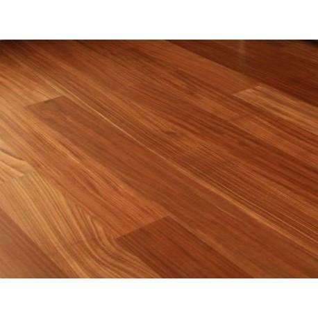 AFRORMOSIA dřevěná masivní podlaha