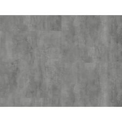 CEMENT STEEL - STONE PLUS HDF - vinylová podlaha CLICK