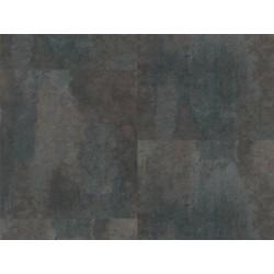 METALLIC ČERNÝ - STONE PLUS HDF - vinylová podlaha CLICK
