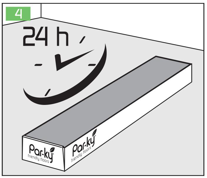 Návod na montáž dýhových podlah PAR-KY LOUNGE a PRO
