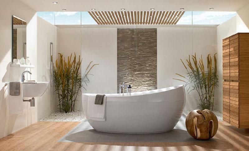 Bambus - moderní koupelna