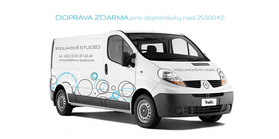 Doprava zboží po celé ČR při objednávce nad 25.tis ZDARMA