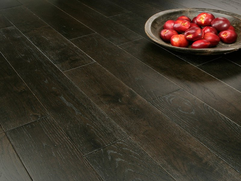 dubova podlaha - BLACK olej