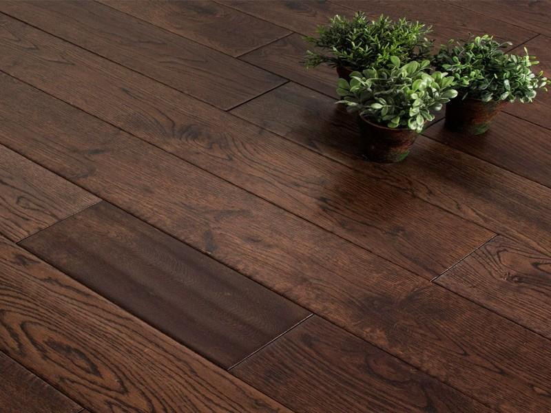 dubova podlaha - CHOCOLATE olej