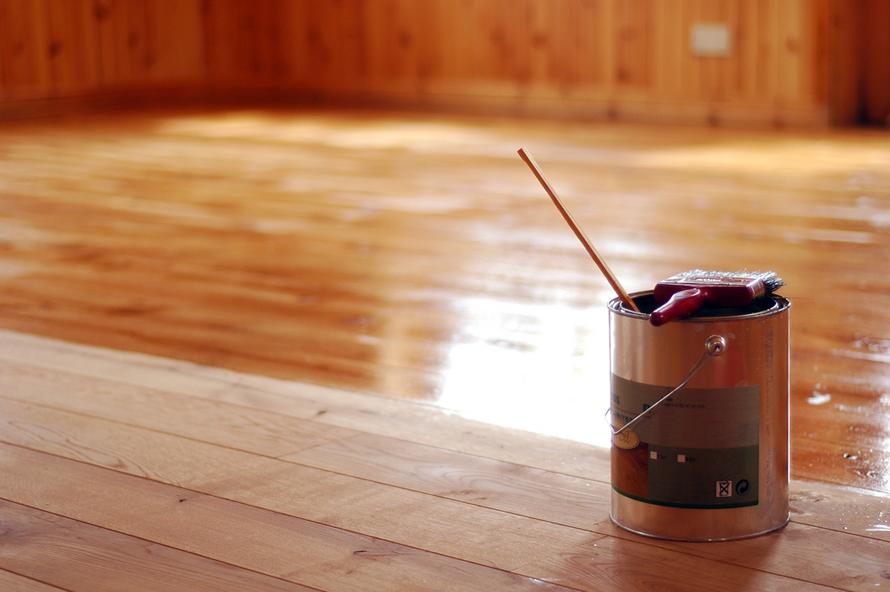 Olejování podlahy