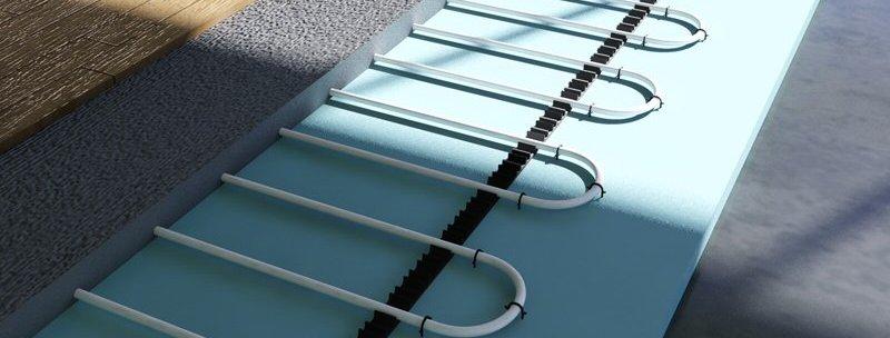 Montáž na podlahové topení