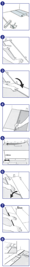 Návod na montáž podlah SELECTION - zámek Uniclic